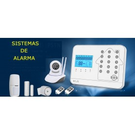KIT ALARMA COMPLETO GSM WIFI Y TELEFONO ALARM99WIFI