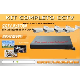 Kit de video vigilancia mod: KIT5M1080EXT