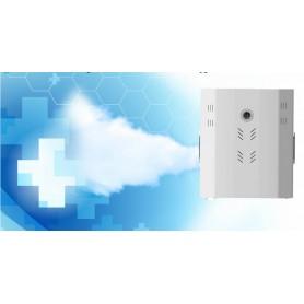 Generador de niebla profesional IVT FOG-200 para higienización ambiente y antirrobo